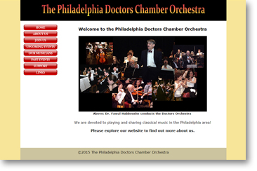 Doctors Orchestra website
